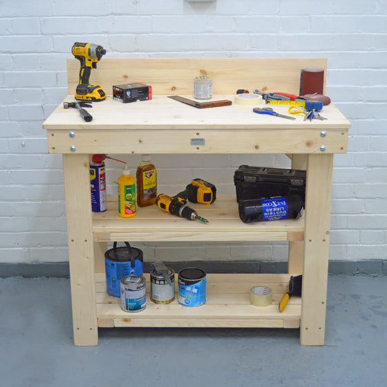 strong flat pack workbench