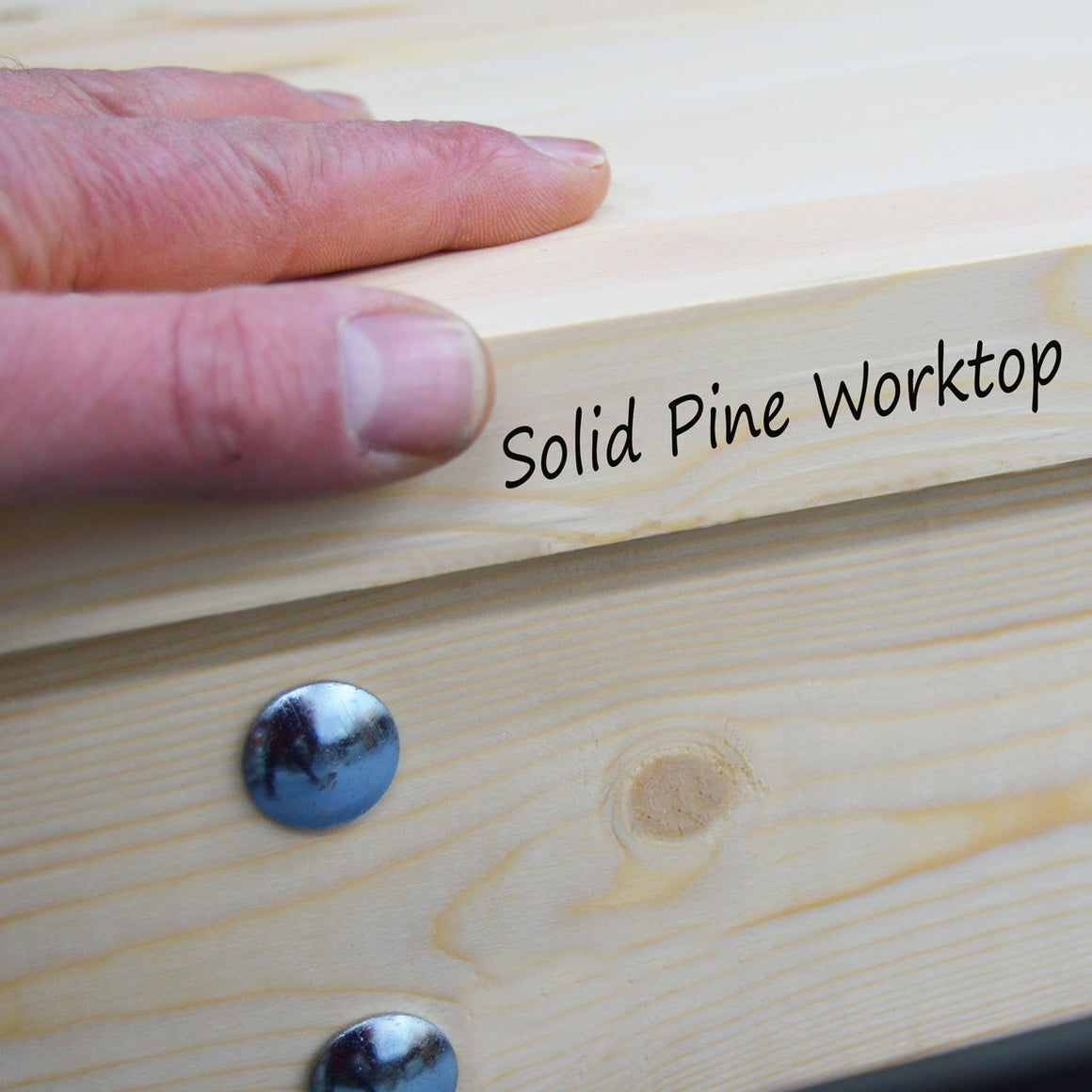 solid pine wooden worktop