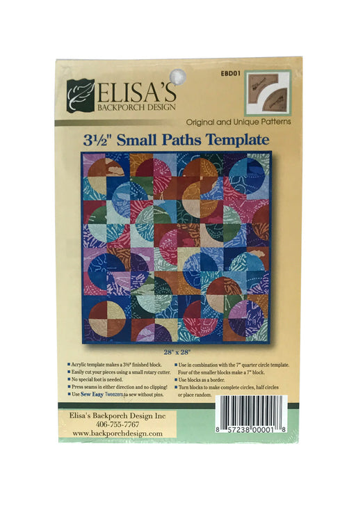 "3 1/2"" Small Paths Template Butik Kiweb"