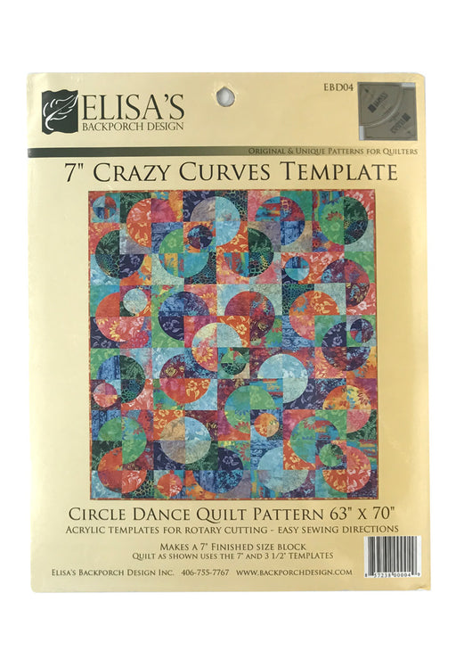 "7"" Crazy Curves Template Butik Kiweb"