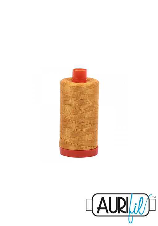 Aurifil 50wt Tråd - 2140 Orange Mustard