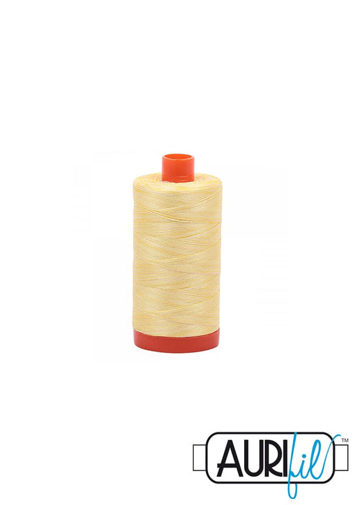 Aurifil 50wt Tråd - 3910 Variegated Lemon Ice