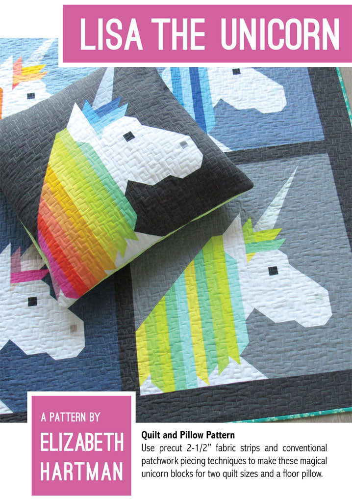 Elizabeth Hartman Lisa The Unicorn mønster Butik Kiweb