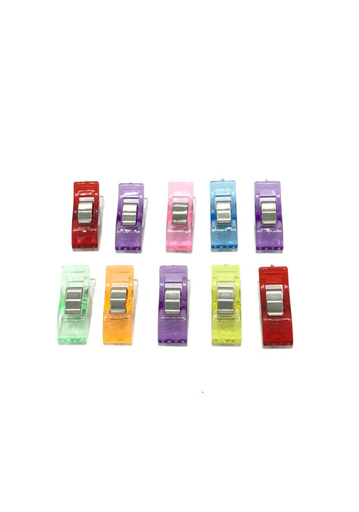 Quilte Clips - 10 stk. Multicolor