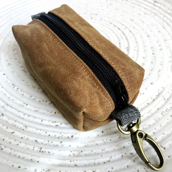 THE MINI BAG - NUTMEG/BLACK