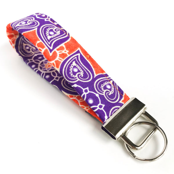 THE FOBSKEY® || PURPLE AND ORANGE