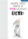 ADD-ON CARD || HOPE YOU HAVE A FOB-ULOUS EASTER!