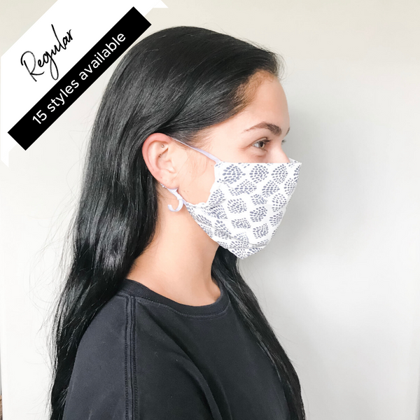 60% OFF || REGULAR || ADJUSTABLE ELASTIC LOOP FACE MASKS