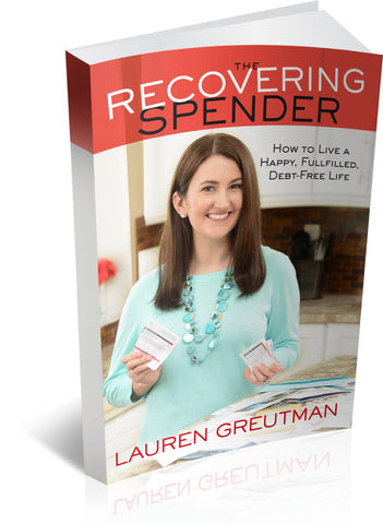 The Recovering Spender Book