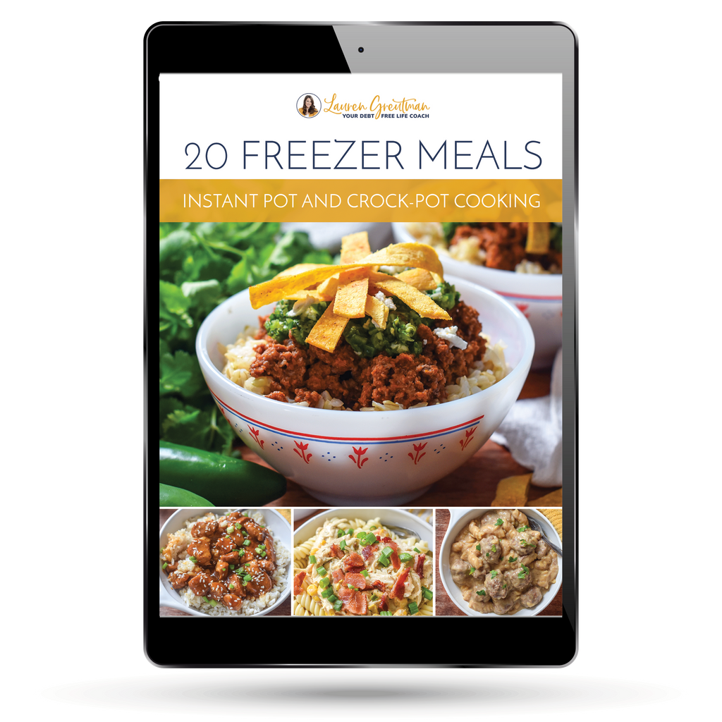 Meal Plan #5 - Instant Pot and Crock-Pot Freezer Cooking Plan
