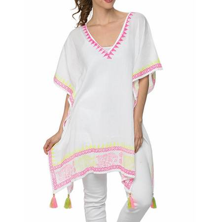 Beach Breeze Caftan Swim Cover