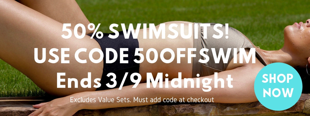 Bundle and Save 15% on swimsuit and beach accessories