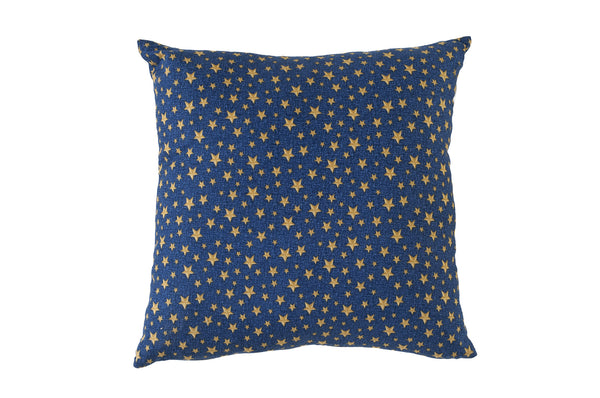Gold Stars Pillow