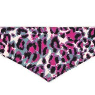 Dog Bandana - Pink Animal Print