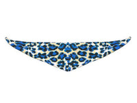 Dog Bandana - Blue Animal Print
