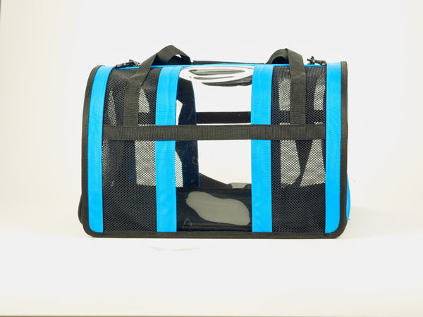 Light Blue Pet Carrier