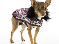 Pink Leopard Posh Puppy Coat