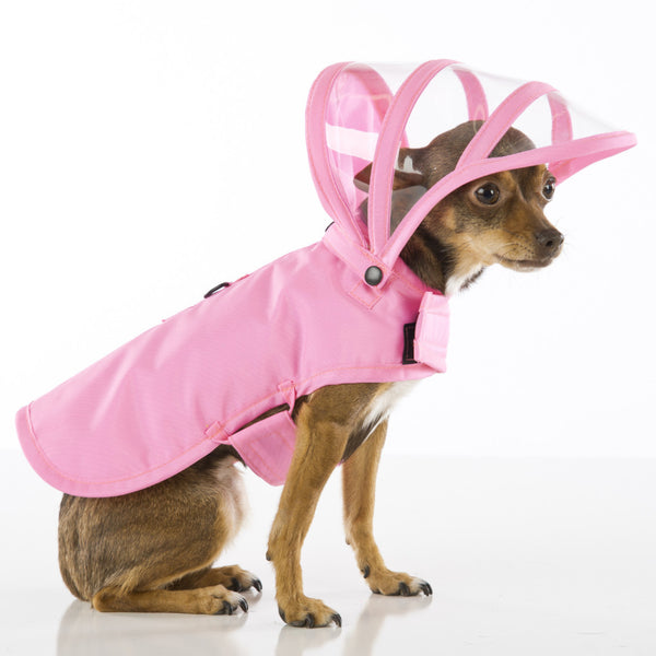 Pink Dog Raincoat