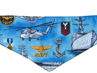 Dog Bandana - US Navy