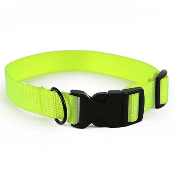 Safety Yellow Dog Collar