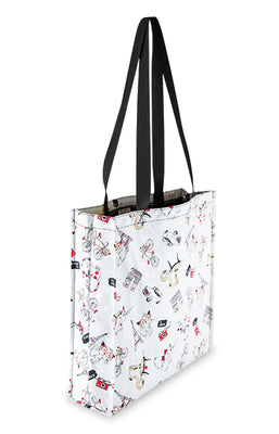 French Kitten Tote Bag