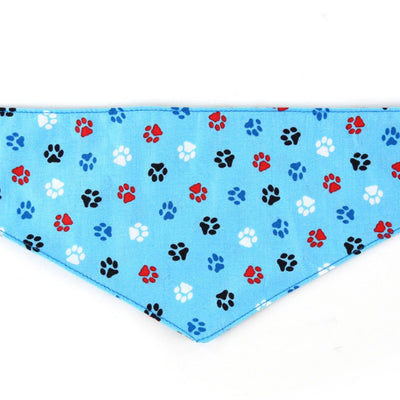 Blue Paws Dog Bandana