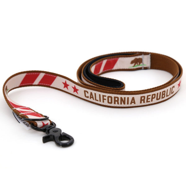 California Flag Dog Leash