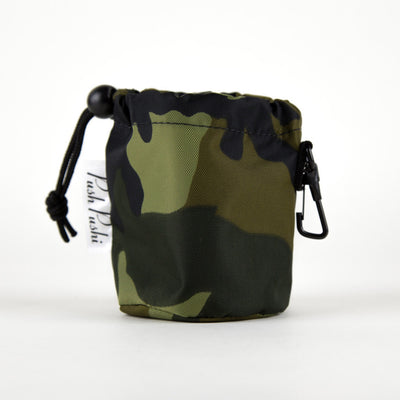 Camouflage Dog Treat Bag