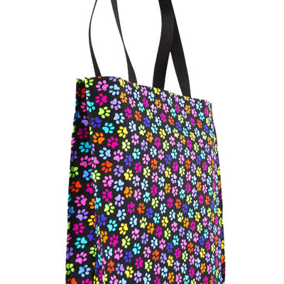 Rainbow Paws Pet Tote Bag