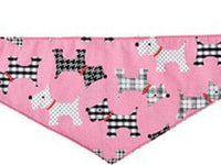 Pink Puppies Dog Bandana