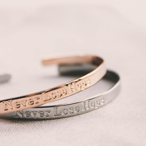 Never Lose Hope Bangle