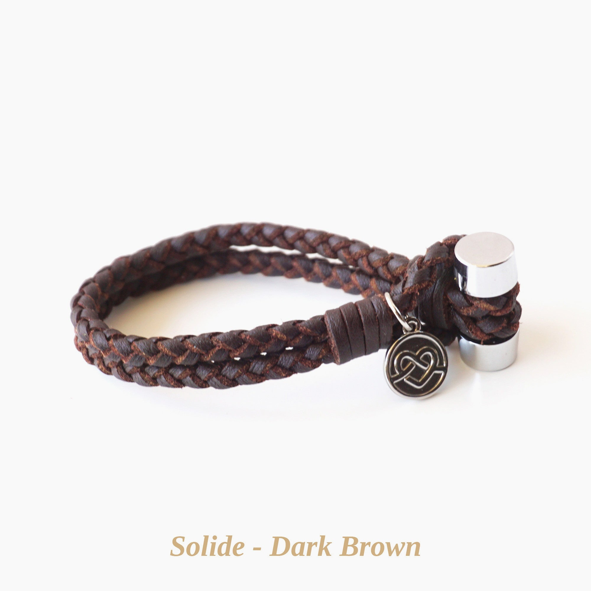 Dark Brown Solide Bracelet