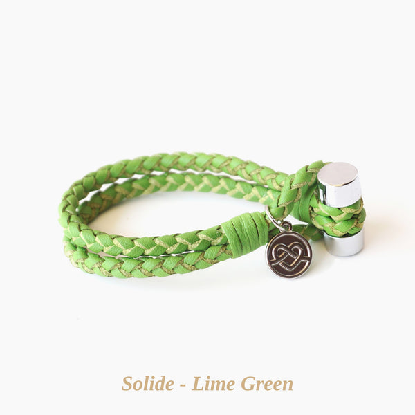 Lime Green Solide Bracelet