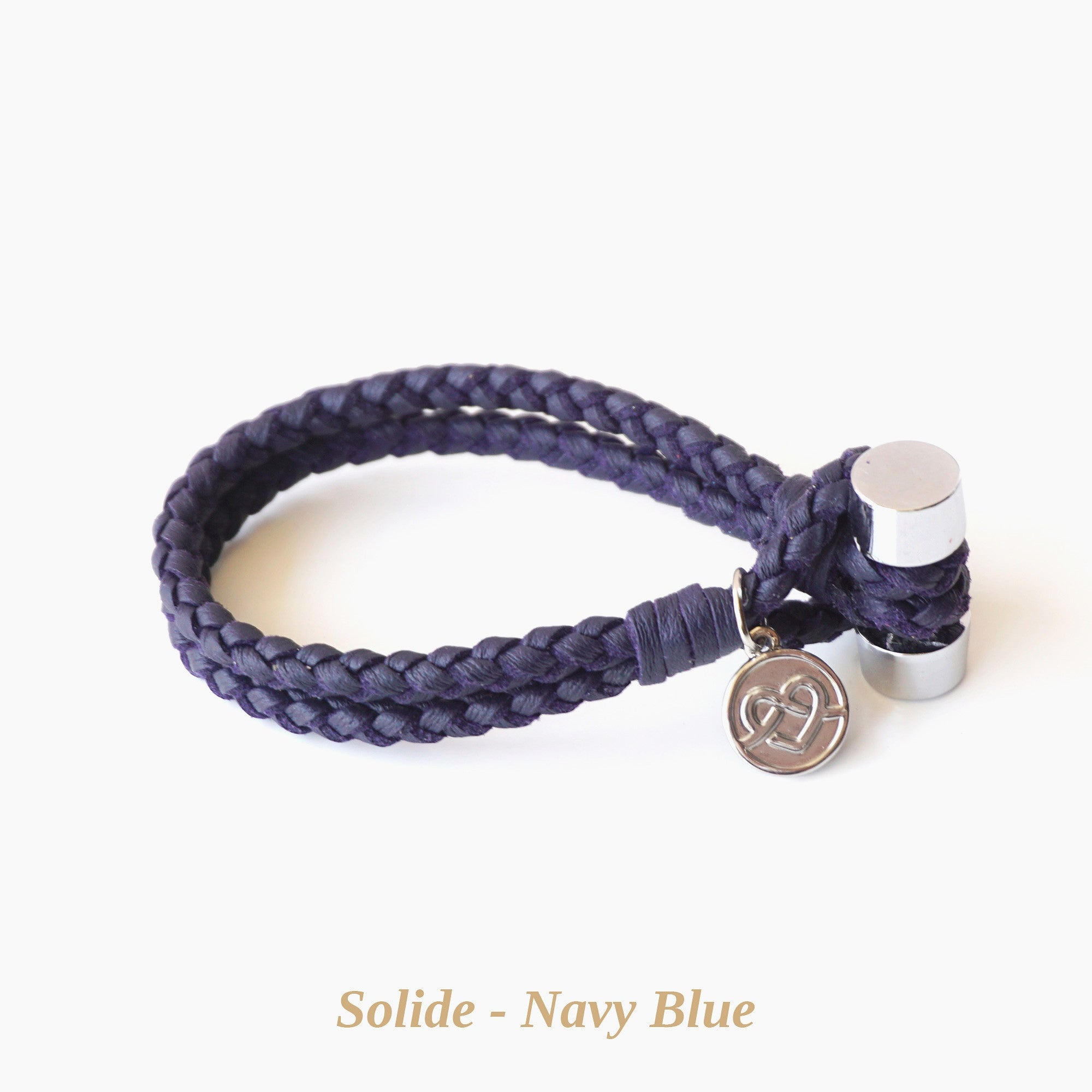 Navy Blue Solide Bracelet