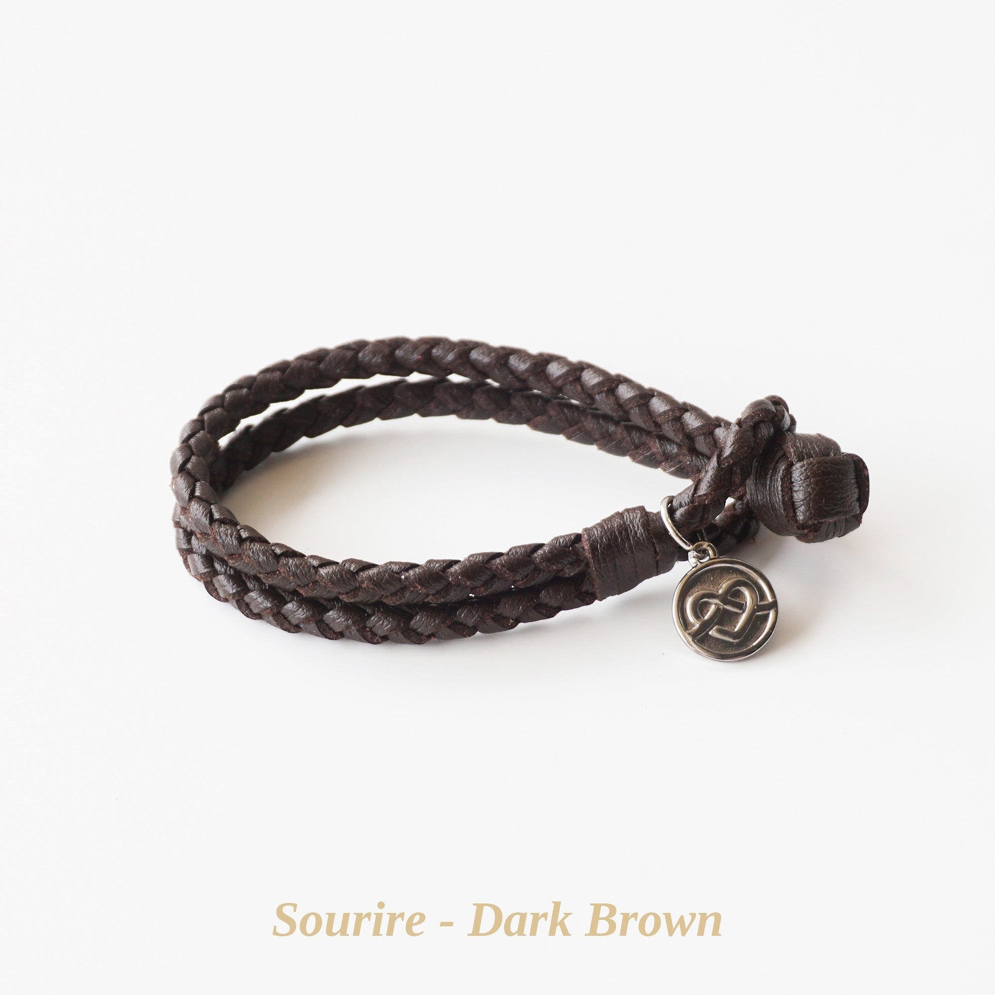 Dark Brown Sourire Bracelet