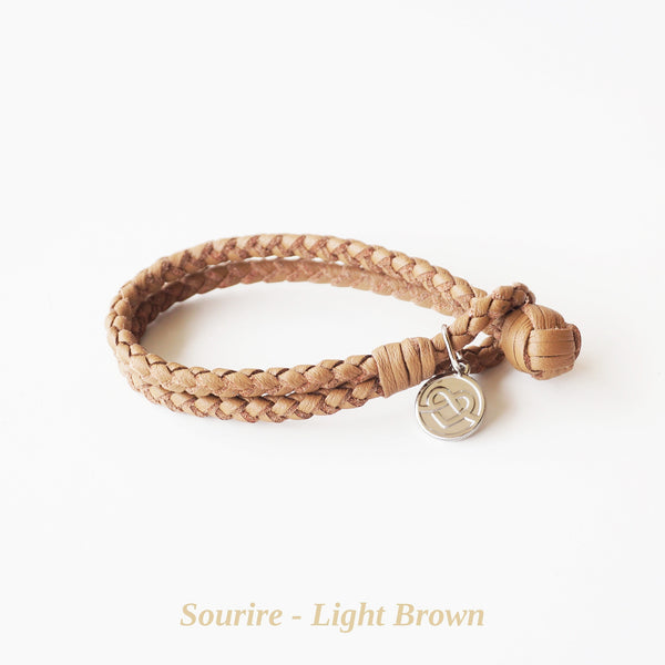 Light Brown Sourire Bracelet