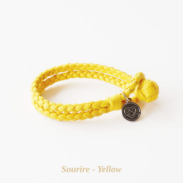 Yellow Sourire Bracelet