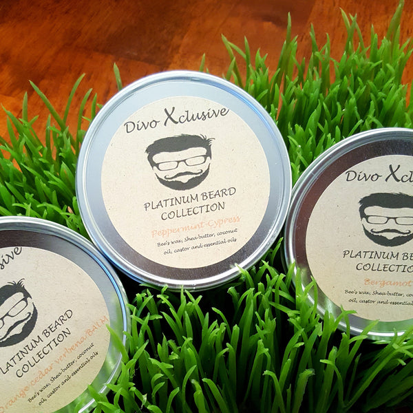 Divo Xclusive Beard Balm and Beard Wash Collection