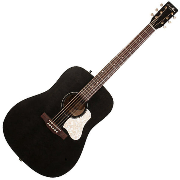 Art & Lutherie Americana Acoustic Guitar in Faded Black - 45587