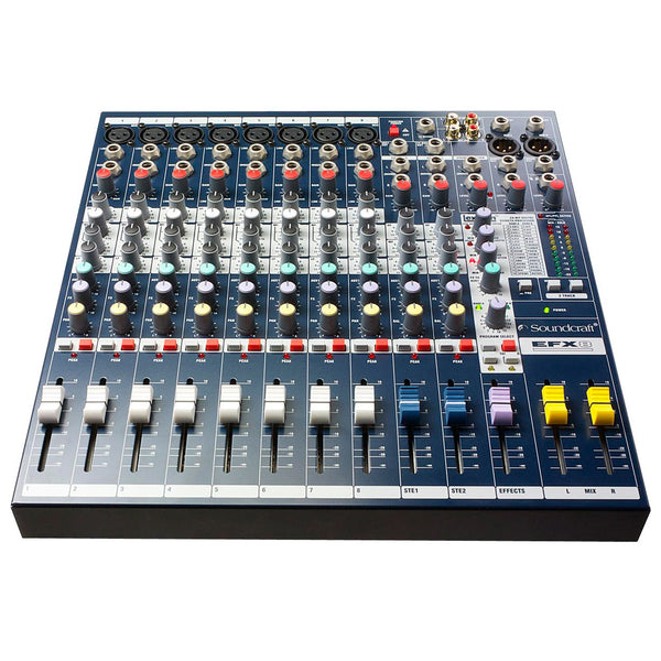 Soundcraft EFX8 12 Channel Non Powered Mixer