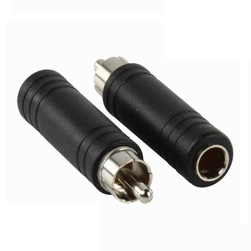 Apex AA2 RCA Male to 1/4 Female Adapter