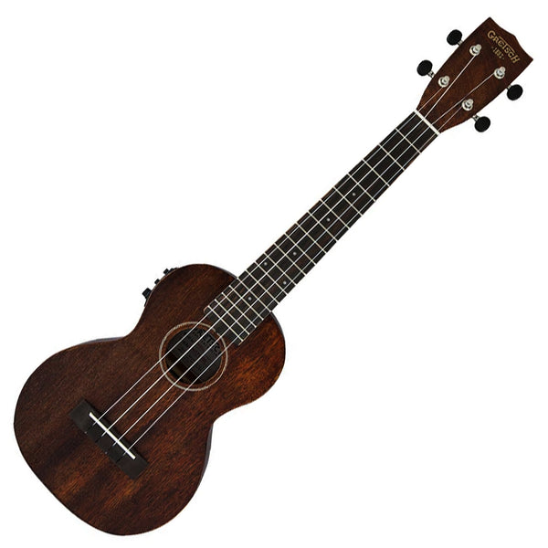 Gretsch Concert Long-Neck Electric Ukulele in Vintage Mahogany Stain w/Bag - G9110-L