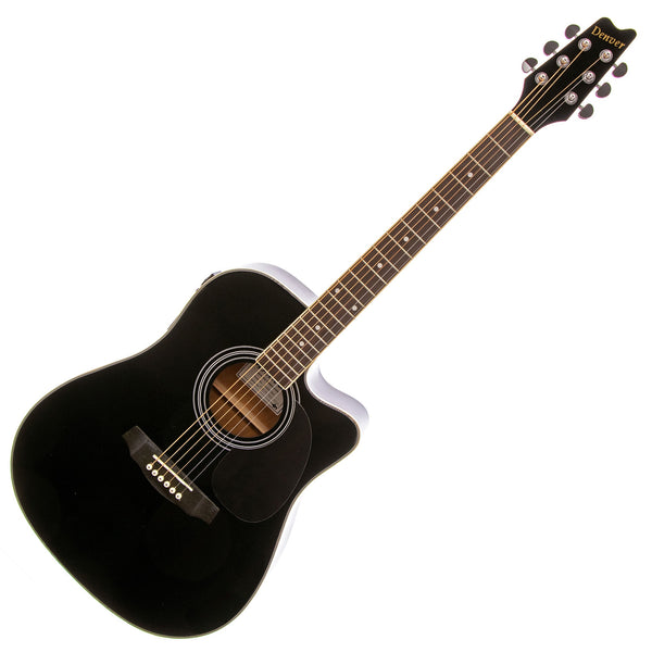 Denver DD44SCEBLK Acoustic Electric in Black