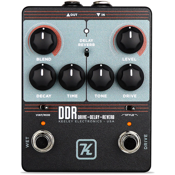 Keeley DDR DDR Drive Delay and Reverb Effects Pedal