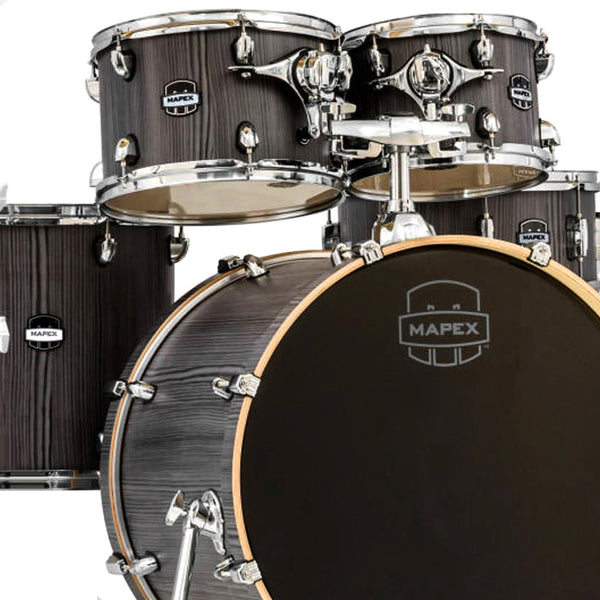 Mapex MPXMA529SFGW 5 Piece Shell Pack in Smokewood