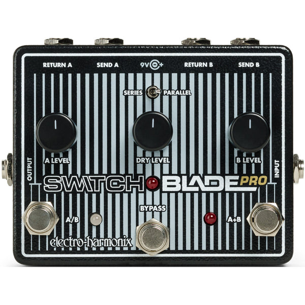 ElectroHarmonix SWITCHBLADEPRO Switchblade Pro Deluxe Switching Effects Pedal