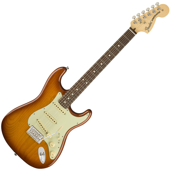 Fender 0114910342 American Performer Stratocaster Electric Guitar Rosewood in Honeyburst w/Bag