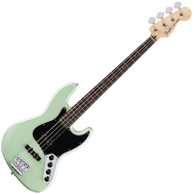 Fender 0143513349 Deluxe Active Jazz Bass Guitar in Surf Pearl