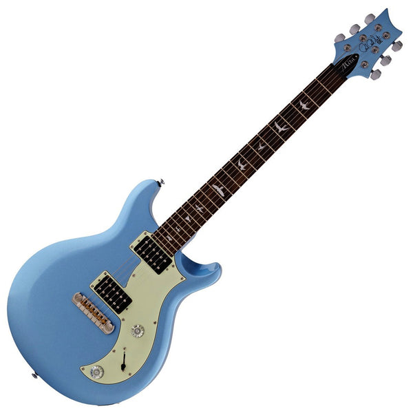 PRS SE Mira Electric Guitar in Frost Blue Metallic - MIMB