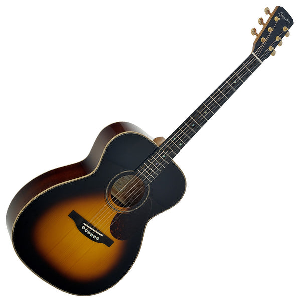 Boucher Studio Goose Sunburst OM Acoustic Electric Rosewood Adirondack w/Case - SG51BS